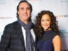 Joel Hock, president of Solutions with Impact, and actress Sofia Milos