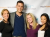 Terry Pursell, foundation president and CEO; celebrity Ivan Sergei, Anne O'Connor and Ana Nituda
