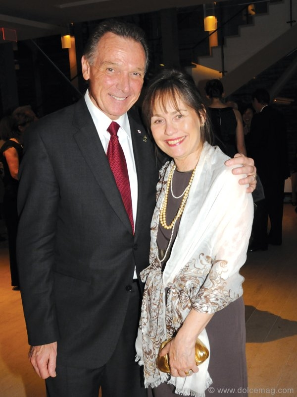 The Hon. Minister of State of Foreign Affairs (Americas) Peter Kent and his wife, Cilla Kent