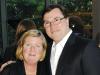 Bernadette Stanton-Meijer and husband, presenting sponsor Kevin Stanton (president, MasterCard Canada)