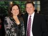 Florence Minz and Dr. Peter Simon (president, RCM)