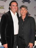 Joel Hock, president of Solutions with Impact and founder of Rally for Kids with Cancer; actor Eric Roberts (The Dark Knight, The Expendables).