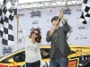 Eva Longoria Parker and Hayden Christensen (Takers, Star Wars: Episode III – Revenge of the Sith) kick off the race.