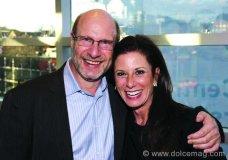 Mark Fox (chairman/CEO, Novator Systems) and Marlene March