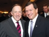 Dr. Sean Riley (president, StFX), the Hon. Frank McKenna