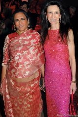 Acclaimed director Deepa Mehta and Michelle Levy