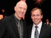 Matthew Jocelyn (Canadian Stage artistic and general director) and Patrick Keeley (Theatre Ball chair)