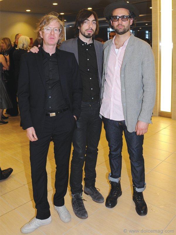Broken Social Scene's Sam Goldberg, Justin Peroff, Brendan Canning
