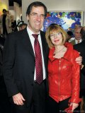 Norman Raschkowan, executive vice-president for Mackenzie Financial Corporation and Kate Raschkowan