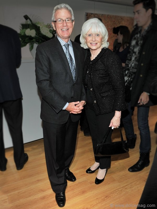 Ed Collins, vice president and portfolio manager, Wellington West Capital; Susan Collins, arts patron