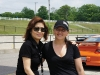 Jasmin Rawlinson (director, marketing Porsche Cars Canada) and Helen Ching-Kircher.