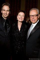 Jiri Jelinek (NBoC principal dancer) with Karen Kain (NBoC artistic director) and Ross Petty