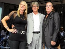 Kim Williams, actor Eric Roberts and Jim Williams, CEO and president of Williams Telecommunications.
