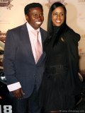 Toronto Argonauts vice-chair Michael (Pinball) Clemons with wife, Diane Williams.