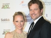 Actors Anne Heche and James Tupper.