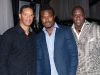 CFL alumnus Damon Allen, Rookie Blue actor Lyriq Bent and Farley Flex.