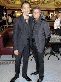 Nightclub impresario Charles Khabouth with La Société partner Danny Soberano.