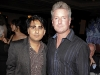 National Post society columnist Shinan Govani and Tony Longo, La Société floor boss and Ink Entertainment's director of food and beverage.