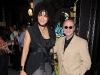 Magazine editor Suzanne Boyd and media mogul Moses Znaimer.
