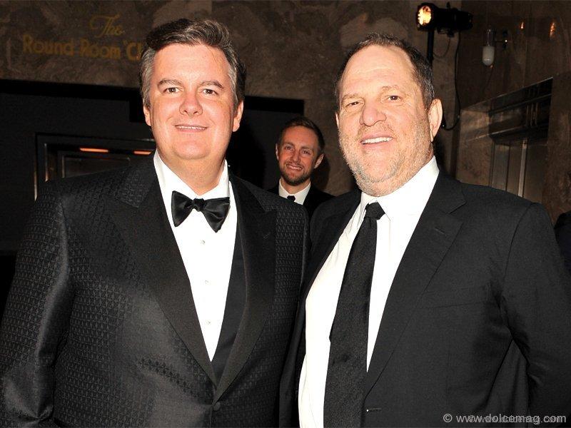 Edward Rogers and uber-film producer Harvey Weinstein