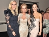 Marchesa co-founders Keren Craig and Georgina Chapman with Suzanne Rogers (centre)