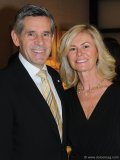 Robert McEwen (chairman and CEO,  U.S. Gold and Lexam Explorations) with wife, Cheryl McEwen (McEwen Centre for Regenerative Medicine)