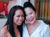 L-R: Manager UWI Gala secretariat Amanda Chin-Loy and Donette Chin-Loy.