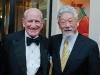 L-R: Harry Rosen and David Suzuki.