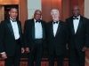 L-R: UWI professors Archibald Campbell, Luther Seabrook, Lou La Grassa and Vice Chancellor's Award recipient Keith Forde