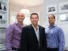 Renaissance Fine Homes founders Pat Lamanna, Matthew Garnet, Frank Vitale