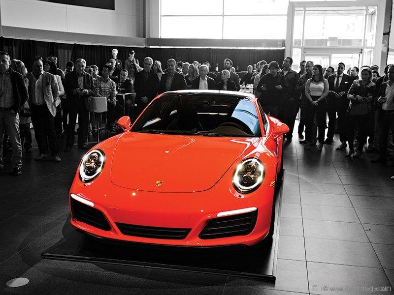 Porsche Centre Oakville launches New Carrera 911