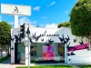 Art Angels LA with Butterfly Mural by PMT