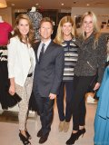 Caroline Mulroney; Andrew Taylor, senior director of public relations at Ann Taylor; Suzanne Cohon, principal of  ASC Public Relations; and Robyn Scott