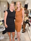 Shelagh Kellam and Jessica Bongard, store manager of Ann Taylor at the Toronto Eaton Centre