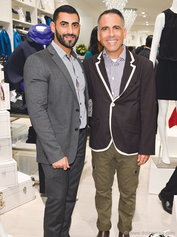 Abed Ayseh and David Sinicrope, vice-president – director of stores at Ann Taylor