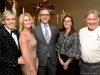 Rob and Cheryl McEwen, Dr. Brad Wouters, Dr. Cristina Nostro, Chef Arpi Magyar