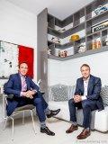Managing partner of CD Capital Developments Jordan Dermer and managing partner of CD Capital Developments Todd Cowan