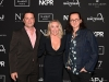 (L-R) Yannick Bisson, Shantelle Bisson, and Geddy Lee attend the 13th Annual Artists for Peace and Justice Fundraiser during Toronto International Film Festival on September 11, 2021 in Toronto, Ontario. (Photo by Ryan Emberley/Getty Images for Artists for Peace and Justice)