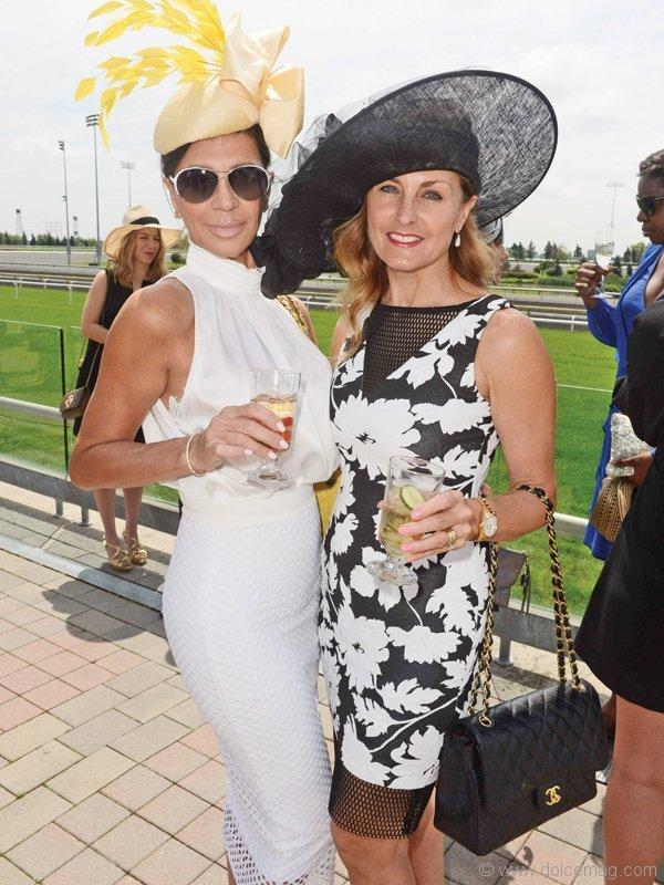 Alida Fidani and Patricia Publow