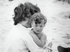 Legendary photographer Mark Shaw captured this intimate moment with Jackie and Caroline Kennedy / Copyright Mark Shaw/ Mptvimages.com