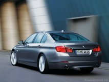The 5 Series sedan comes in various configurations:  the 528i features a 3.0-Litre six-cylinder engine, the 535i has  a turbocharged 3.0-L six-cylinder engine, and the 550i features BMW's turbocharged 4.4-L, V-8. The 535i and 550i are also available  in all-wheel xDrive configuration.