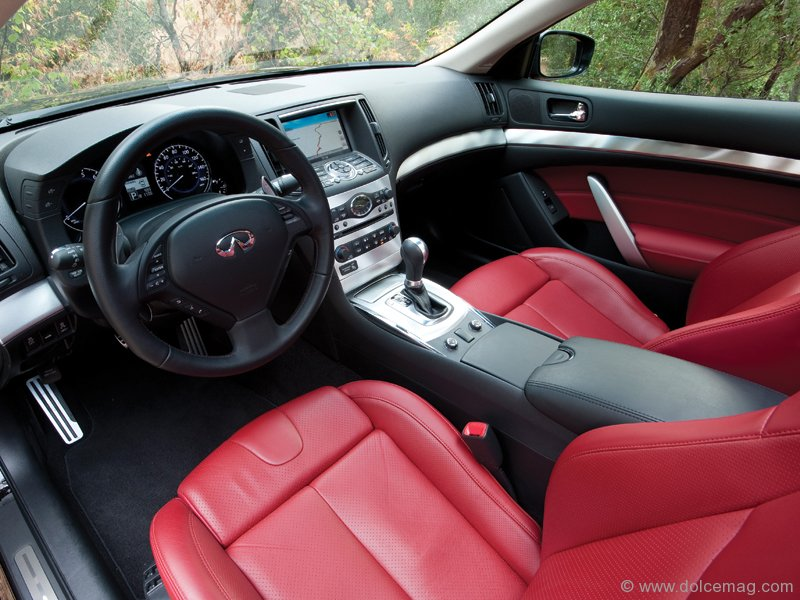 infiniti ipl g37 coupe infiniti performance line dolce luxury magazine. Black Bedroom Furniture Sets. Home Design Ideas