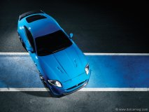 The XKR-S can easily hang with other sports coupes like the Mercedes SL 63 AMG, Aston Martin DBS and  Audi R8 4.2.