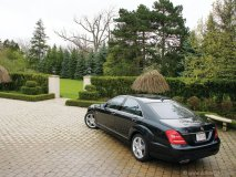 Mercedes is looking to add some serious performance enhancements to the 2012 S 550 Biturbo sedan. Photo by Omar Cushnie