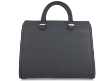 HANDLE WITH CARE The classic black bag with a bit of spice. This leather tote by Victoria Beckham will complement any woman's style, with its simple  and chic design. www.net-a-porter.com