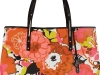 SUMMER SIDEKICK We found your go-to bag.  With flower print and leather trim, this colourful Jimmy Choo tote is spacious and summery. Use it  on your next shopping trip or beach vacation.  www.net-a-porter.com