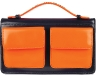 TRADE MARC Try the colour-block trend this summer with a leather clutch. Practical and chic,  this Marc by Marc Jacobs bag can easily transition from day to night. www.net-a-porter.com