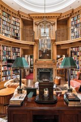 Conrad Black's ancestral estate boasts a two-storey library, a consecrated chapel, an indoor pool, a spa and nine bedrooms