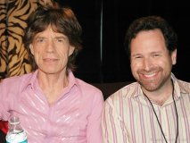 Avrich and Rolling Stones front man Mick Jagger