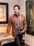 """Avrich, an appreciator of art, explains that in order for him to acquire a piece it must be emotive. """"A piece has to tell a story and be emotional for me."""" he says"""